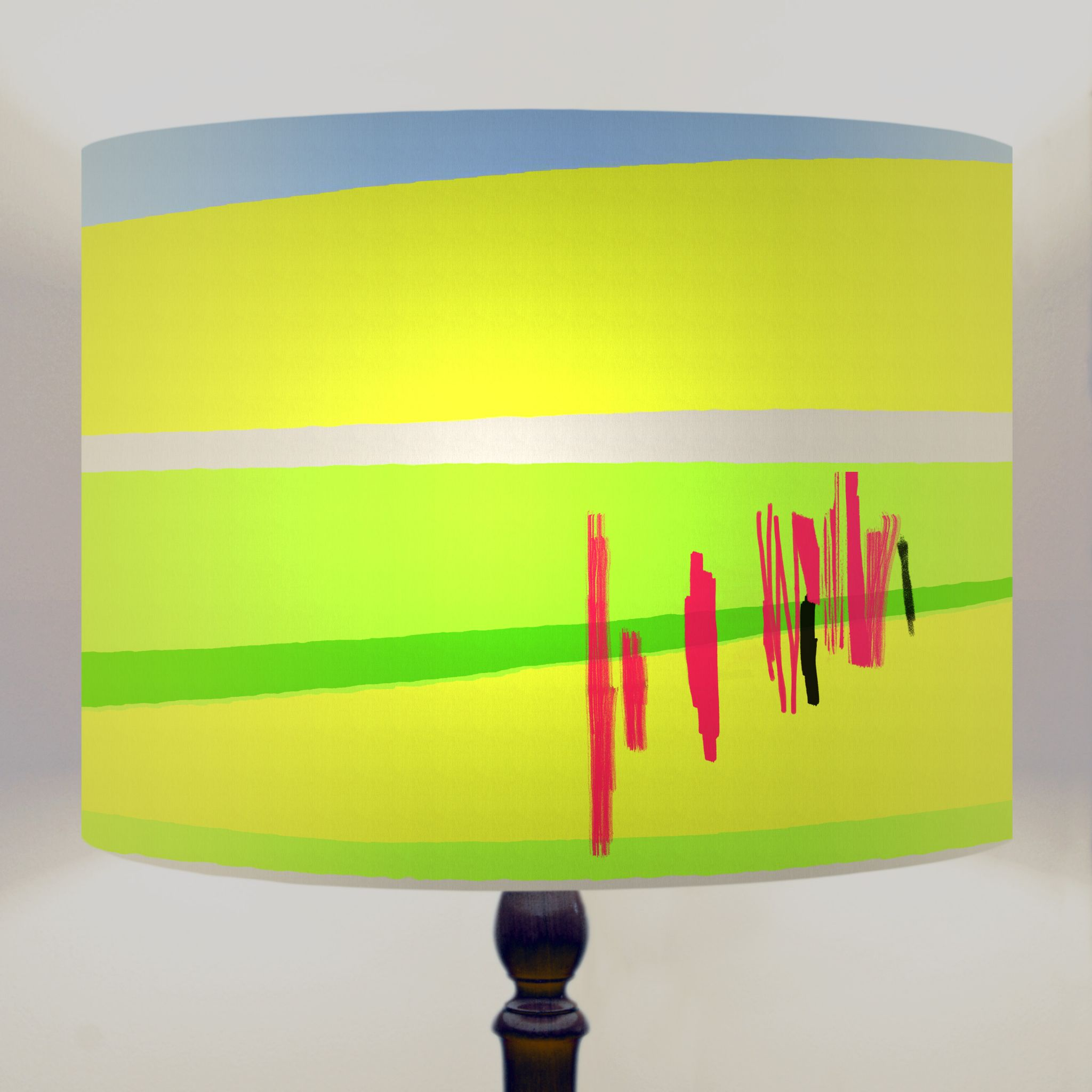 Park life abstract drum lamp shade aloadofball Images